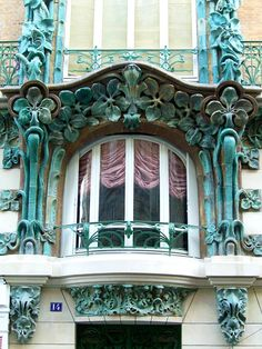 Charles Klein Immeuble Les Chardons 9, rue Claude-Chahu et 2, rue Eugène-Manuel - Paris 16e  1903