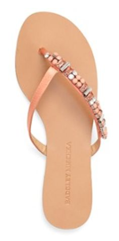 papaya colored Badgley Mischka sandals  http://rstyle.me/n/g45fmpdpe