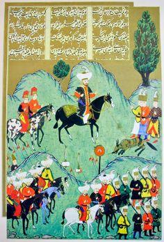 OĞUZ TOPOĞLU : 1. murat kurt avı, hünername nakkaş osman minyatürleri