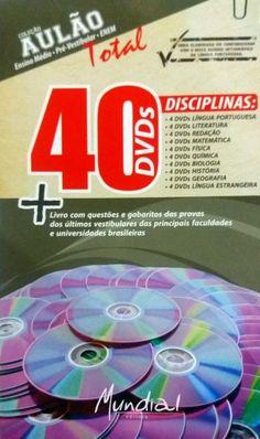 Coleção AULÃO 40 DVDs VIDEOAULAS PARA CONCURSOS - ISBN