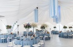 Events by Gia loves this 'Frozen' atmosphere! #atlanta #eventstyling #eventcompany #eventsbygia #sherwoodeventhall #prom #batmitzvah #partyideas #entertaining #atlantavenues #quinceanera #sweet16 #batmitzvah #wedding #weddingtheme #frozentheme