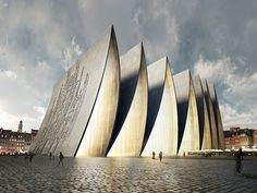 """Contemporary """"Cathedral Fold"""" by Axis Mundi"""