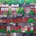 BOSTON óleo sobre lienzo   100x100
