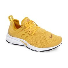 air presto sneaker by Nike. Crisp, clean and ready for the streets, a retro-futuristic runner boasts a breathable stretch-mesh upper, vibrant col...