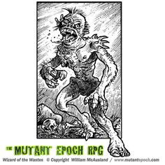 The Mutant Epoch:: The Wizard of the Wastes  ODD 9 Art Gallery Spawn Comics, Epoch, Art Gallery, Rpg, Art Museum, Fine Art Gallery