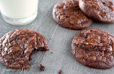 Chewy brownie cookies - CherylStyle