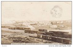 RP: Train Station / Railroad Yards, KERROBERT , Saskatchewan , Canada , PU-1913