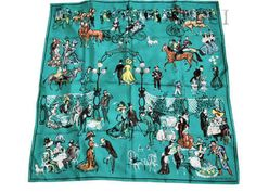 Armenonville (from HSCI Hermes Scarf Photo Catalogue)