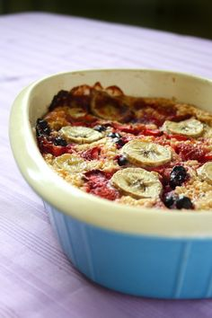 collecting memories: Strawberry & Banana Oatmeal Bake