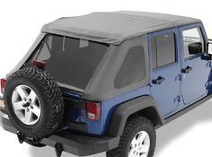 Bestop® Trektop NX in Black Diamond for 07-12 Jeep® Wrangler Unlimited JK 4 Door