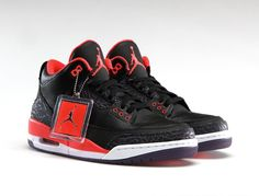 meet e56eb fc992 Air Jordan 3 Crimson Air Jordan Iii, Best Sneakers, Popular Sneakers, Nike  Air