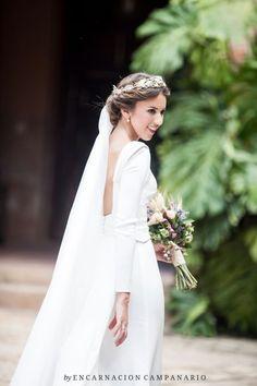 Couronnes de fleurs pour mariée 2017 : style et naturel assuré ! Image: 17