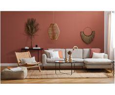 Pouf in lino Saffron Living Room Colors, Living Room Grey, Living Room Interior, Home Living Room, Living Room Decor, Beige Wall Colors, Beige Walls, Style Salon, Style Deco