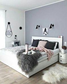 Elegant Chambre Ado Fille Moderne En 50 Idées Pour Un Décor Génial Et Cosy!