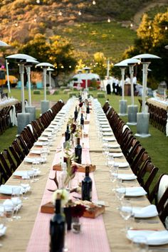 Saddlerock Ranch/Camp Cabernet Wedding | Style Me Pretty