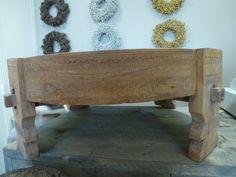 Unieke oude maalsteen tafel