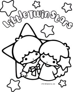 Sanrio Characters Coloring Pages | Coloring Page   Little Twin Stars Photo  (2370199)