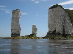 Famous Sea Stack, Old Harry Rocks, UK. Saw these on the ferry to France last week from Poole in Dorset.
