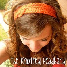 DIY Knotted Crochet Headband