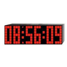#LED #Digital #Alarm #Countdown #CountUp #Clock #Remote #Control #Big #Time #24 #Hour #Snooze #Lattice