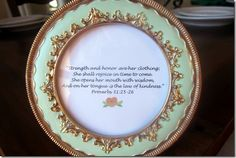 Bridesmaid Gift - Personalized Framed Bible Verse