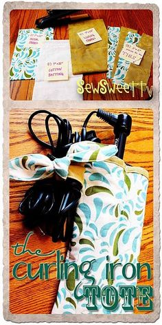 Curling Iron Tote