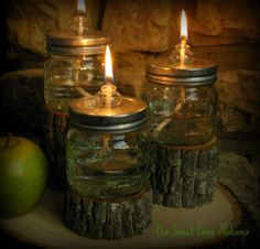cute use of mason jars