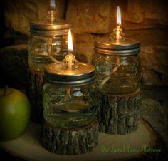 cute use of mason jars