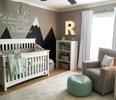 Sneaky-peek at a nursery we shot today! So excited to share the full nursery reveal with @projectnursery !!