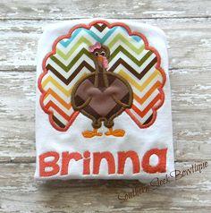 Turkey embroidered shirt or onesie