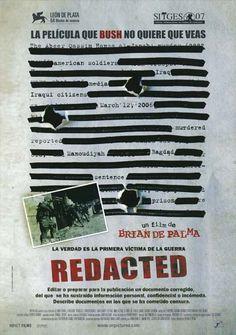 Redacted (2007) de Brian De Palma -  tt0937237