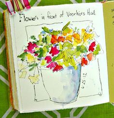 In and Out of The Studio: flowers