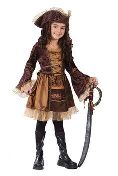 Girl Pirate Costumes - Victorian Pirate Disfraz Pirata Niño 6434eccc664a