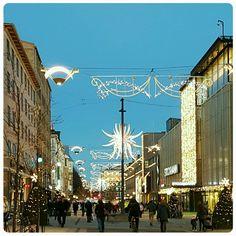 Christmas decorations~Turku,Finland