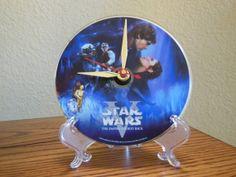 STAR WARS DVD Desk Clock The Empire Strikes by RecordsAndStuff, $20.00