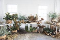 Décorez avec des bouquets de fleurs séchés   Atelier de Couronnes par Design Lovefest