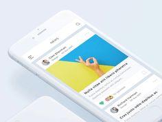 UI Movement is a community of design enthusiasts who share and discuss the most interesting and unique UI designs. Ui Design Inspiration, Creative Inspiration, Design Trends, Best Ui Design, App Ui Design, Richard Harmon, Ui Animation, Mobile App Ui, Creative Portfolio