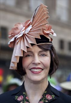 Photograph Easter Parade NYC 2012 Folded Hat by Robert Ullmann on 500px