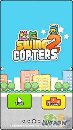 Đón Swing Copters 2- anh em của Flappy Bird lên mobile 1