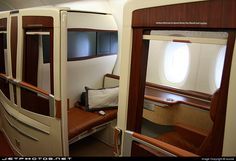 Singapore Airlines Airbus A380 first class