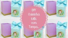 DIY - Caixinha Milk com Tampa...