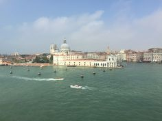 Grand Canal Venice Italy - View from Holland America Cruise Ship