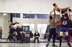 Rehearsals for the world premiere of Belle Redux / A Tale of Beauty & the Beast.