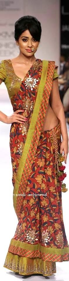 Sashikant Naidu at Lakme Fashion Week Winter 2014