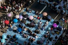 Umbrella Revolution Hong Kong, Umbrella revolution: Hong Kong's pro-democracy protest in China