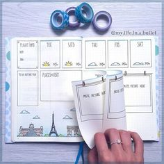 Showing you how to use the 'Dutch door' system in your bullet journal as well as lots of examples of weekly spreads that use it either horizontally or vertically - www.christina77star.co.uk