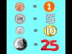 Tales of Frogs and Cupcakes: Teaching Money Math Songs, Kindergarten Songs, Preschool Songs, Teaching Money, Teaching Math, Money Songs, Math School, Second Grade Math, Homeschool Math