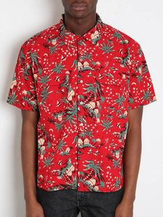 Levi's vintage Hawaiian shirt, a wonderfully crazy pattern.