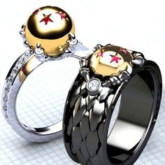Dragon Ball Z Rings Shut Up And Take My Yen : Anime & Gaming Merchandise