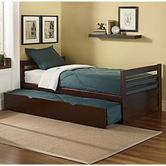 Espresso Trundle Bed